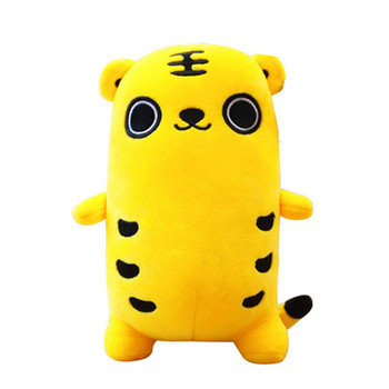 Factory direct selling cartoon tiger plush toy with big embroidered eyes tiger soft gift toy for kids