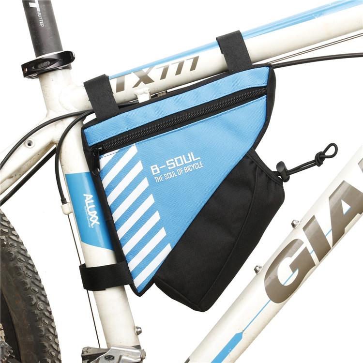 Mais recente chegada à prova d' água esporte triângulo bicicleta saco de viagem saco de bicicleta de ciclismo