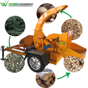 Weiwei forestry wood chipper shredder tree branch crushing cutting machine  for garden usage