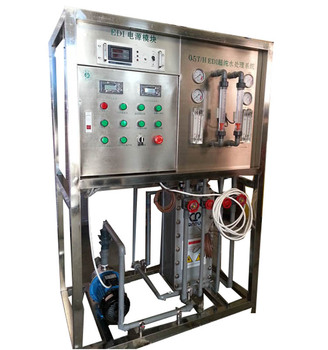 EDI Electrodeionization High Purifying Water Making Machine water treatment machinery