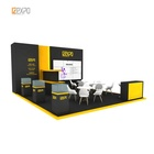 IZEXPO 30mins quick build 6x7m portable trade show booth exhibition material for Hotelex Show