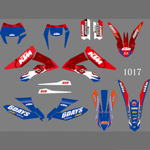 1017 3M Moto Dirt Bike Pit BIke Sticker Decal per KTM Freeride 250f 350f <span class=keywords><strong>2012</strong></span> 2013 2014 2015 2016 2017 2018