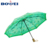 Light weight portable cheap customized logo printed 3 fold umbrella for lady