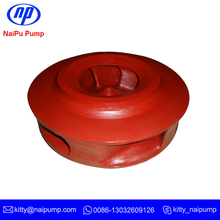Slurry Pump 27% Cr White Iron  Impeller F6058HE1A05