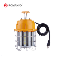 Hot Sale 60w 100W 150W Bulb Led Hanging Work Light replace vintage construction building site lighting