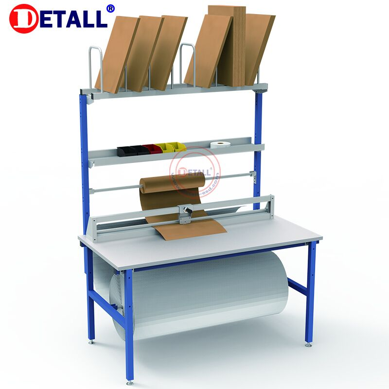 user-friendly used Packing Table Warehouse Workshop workbench combination packaging station