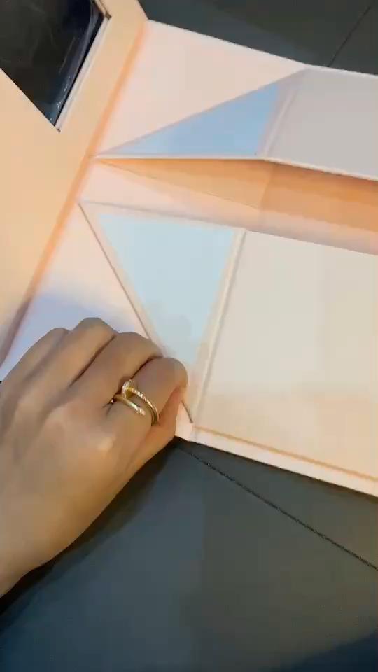 Su ordinazione Di Natale scatola di Imballaggio Cosmetico Flat Pack Contenitore di Regalo di Carta Magnetica