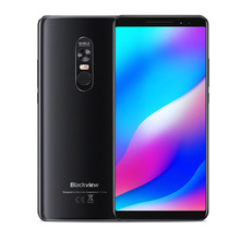 Blackview MAX MT6763T 1 Mini Projetor <span class=keywords><strong>Portátil</strong></span> Home Theater Android 8.1 Celular 6GB + 64GB OTG NFC LTE 6.01 ''Smartphones MAX1