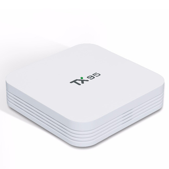 Android tv box cheap price fully loaded tx95 set top box network player android 7.1 2G+16G