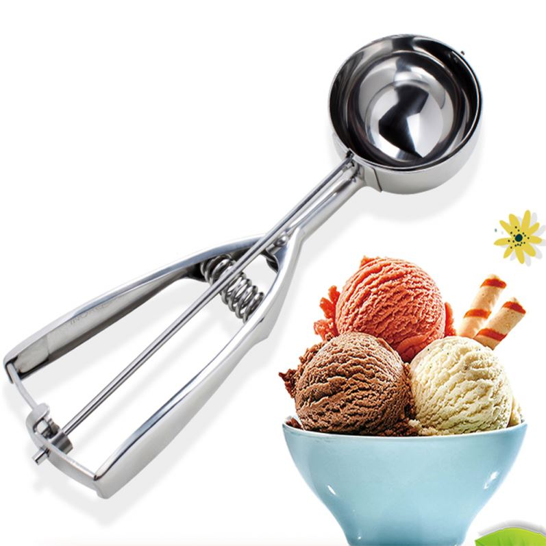 304 Edelstahl Eis Scoop Cookie Scoop Melone Scoop