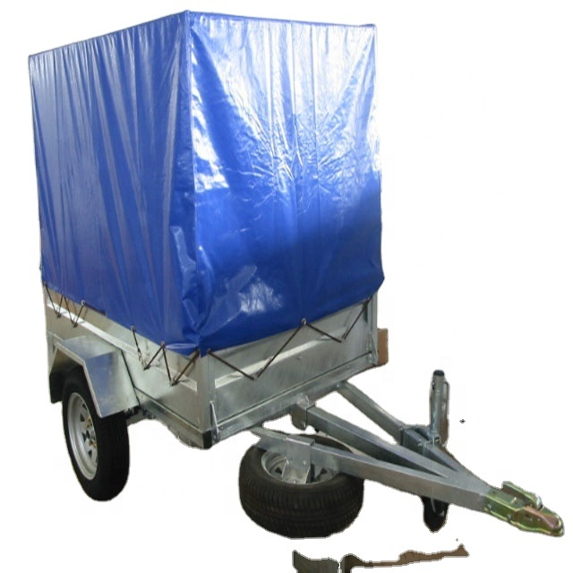with logo trailer cover blue 650g/m2 <strong>pvc</strong>