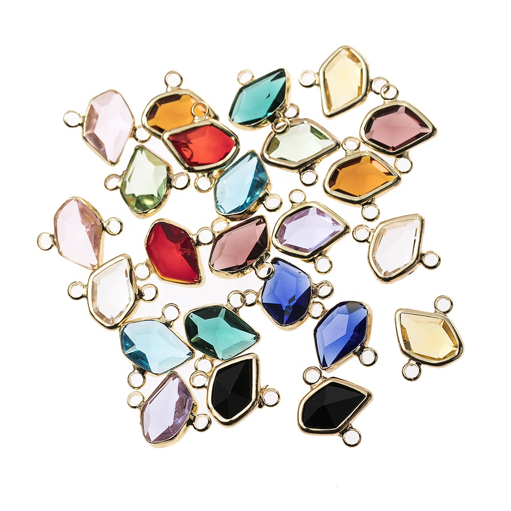 DIY Gold Dried flower Pendant Accessories For Women DIY Jewelry Making Necklace Bracelet Findings Accessories