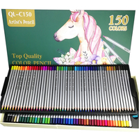 Assorted Color Pencil Ideal for Drawing Premium Professional 150 Colors Pencil for Sketching
