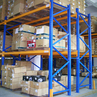 Iron Steel Heavy Duty Rack Warehouse Storage Racking