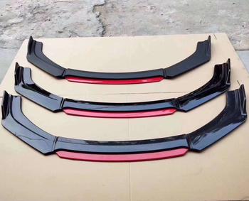 2020 nuevo Universal 4 piezas Kit de parachoques de coche Spoiler parachoques delantero de coche divisor de labios