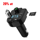 Car Mp3 Player With Bluetooth Hands-free Stereo Music Playing Car Mp3 Player Fm Transmitter