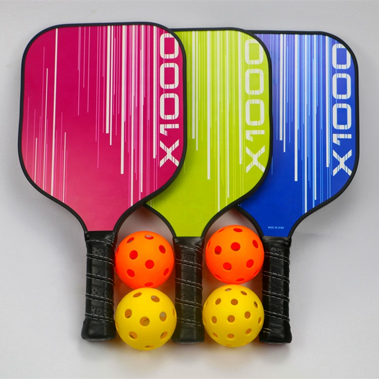 Factory Pickleball Paddles (Graphite and Fiberglass Composite Face, New Textured/ Aramid Honeycomb Core