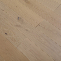Cheap Price three layer parquet European natural oak wood color engineered timber wood flooring