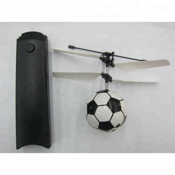 Infrared Control Inductive Hover Flying Ball Helicopter with LED Flashing Light