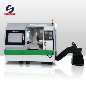 Y axis CNC Lathe milling machine CK46D-8 Living tool 5 axis cnc lathe fanuc