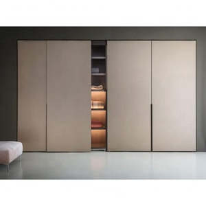 2019 Hangzhou Vermont Australia Modern Style Master Bedroom Wooden Custom Wardrobe Door