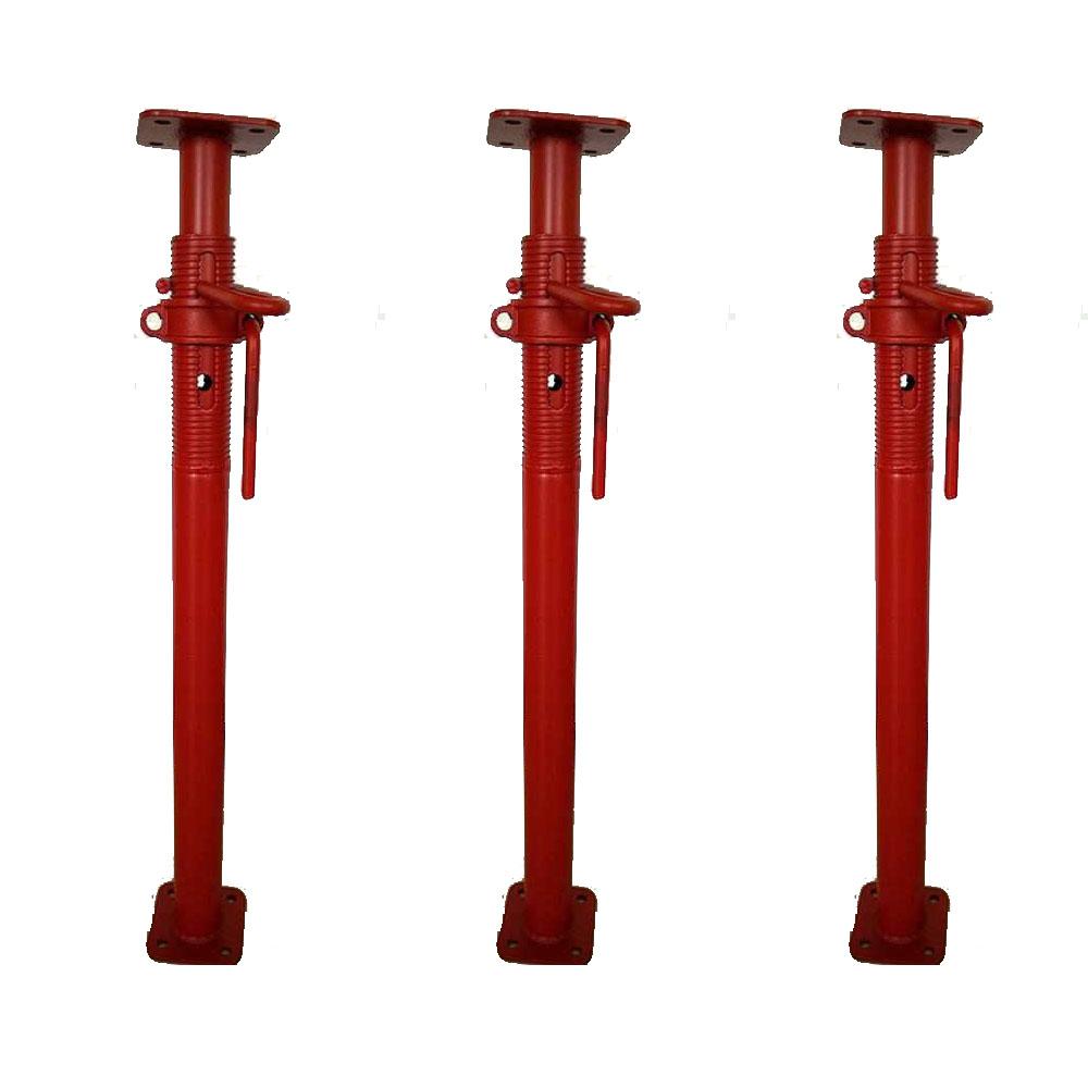 Bau verwendet acrow requisiten bau verwendet adjustable screw jack steht 5 mt stahlstütze