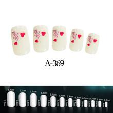 24 шт поддельные ногти полное покрытие ABS искусственные советы для дизайна ногтей украшения для макияжа ногтей детские Мультяшные искусстве...(Китай)
