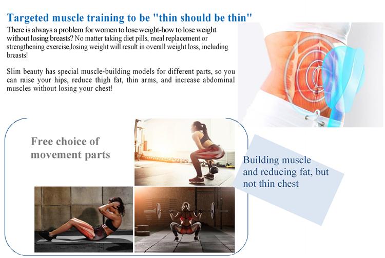 Top musculaire électrique appareil de stimulation musculaire électrique appareil de stimulation musculaire stimulateur unité de dizaines