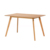 new design wooden mdf oak dining table for dining room table