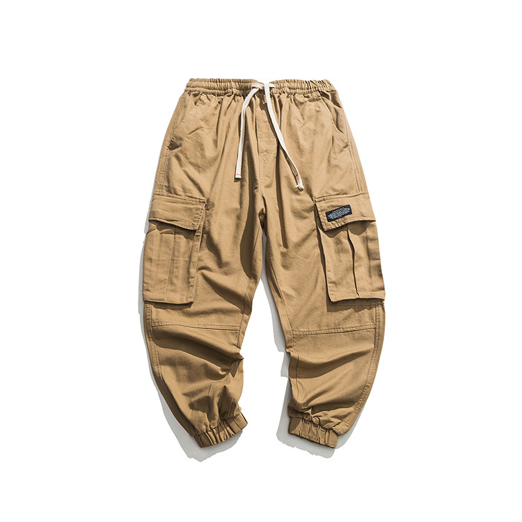 Factory direct supply casual cargo baggy broek voor mannen