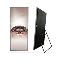 led 2019 Indoor Ultra Thin P2.5 Led Poster Floor Stand Led Screen Display led tv hd outdoor screen