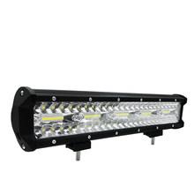 Хит, 1 шт., 126 Вт, 9-32 В, 12000 lmSUV, ATV, светодиодный, рабочий, ремонтный, для внедорожников, вспомогательная лампа, светильник на крышу автомобиля, дл...(Китай)