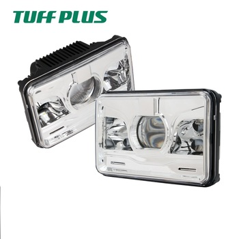60w 12v new arrival dot approval high quality 4 x 6'' high/low beam led car headlights