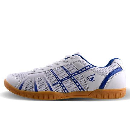 Double fish indoor sports non slip multi color men table tennis shoes