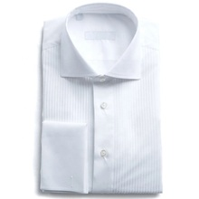 MTM OEM Tucker <span class=keywords><strong>col</strong></span> vente en gros à manches longues smoking fête de mariage flashy mince belle coupe français manchette robe <span class=keywords><strong>chemise</strong></span> <span class=keywords><strong>blanc</strong></span> hommes