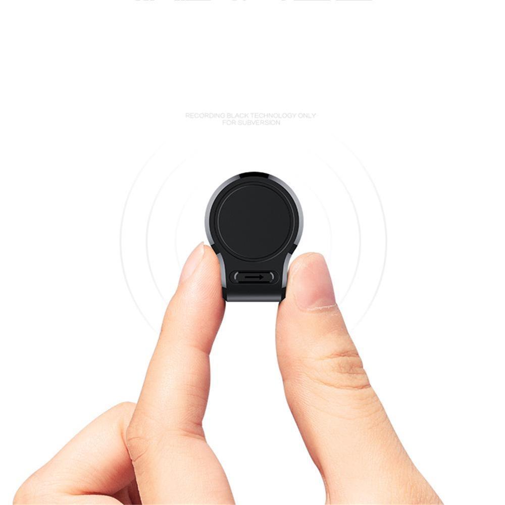 Mini nascosta Audio Voice Recorder 600 ore di registrazione Magnetica professionale HD Digitale Dittafono denoise a lunga distanza