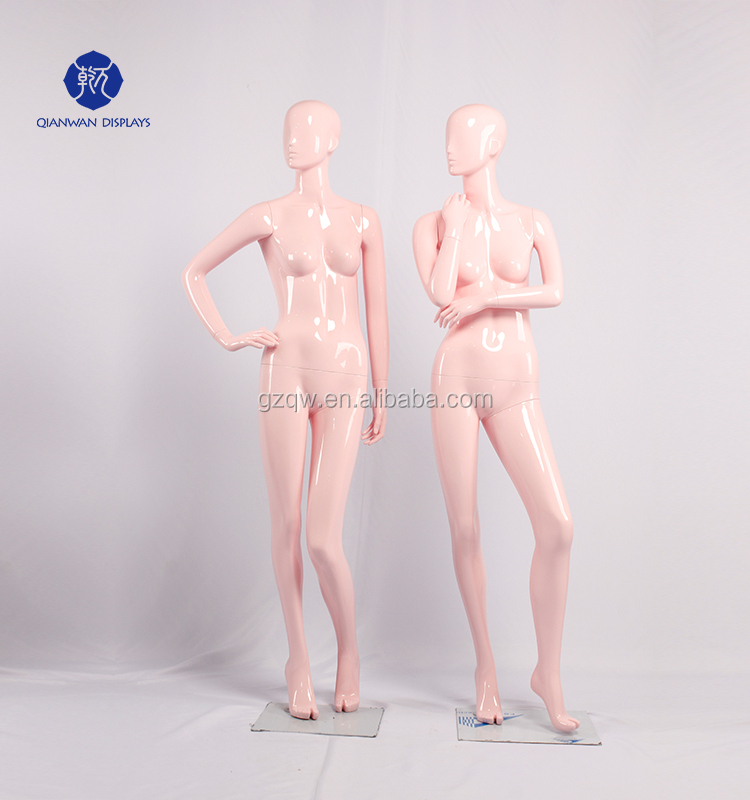 Pink color! High quality female torso bust, half body mannequin,upper body mannequin for lingerie, underwear.