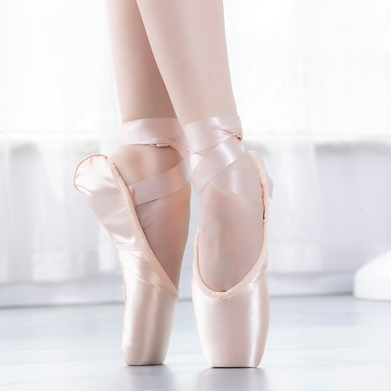 Bl Ballet Dance Satin Ballet Shoes Flat