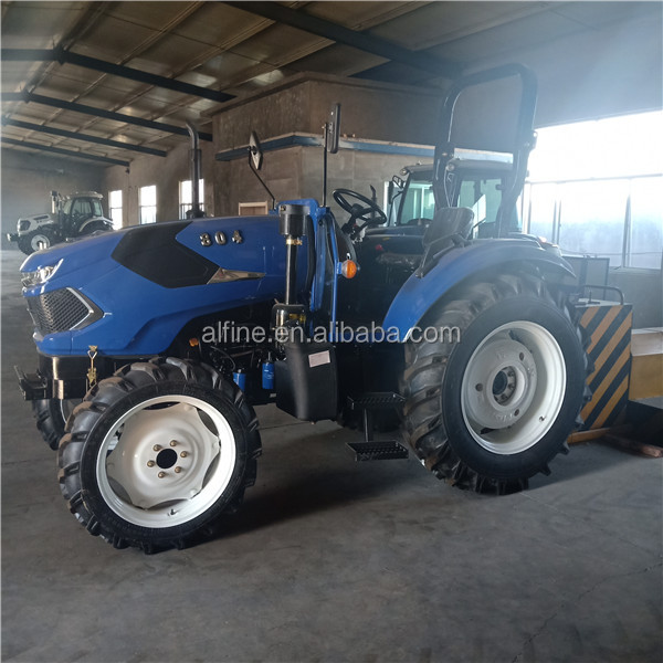 Factory supply good performance tractor 80hp with 4 wheel drive