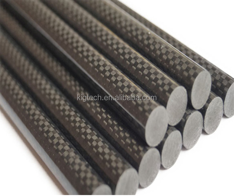 高強度炭素繊維 Speargun バレル炭素繊維チューブ
