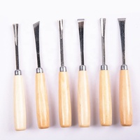 High hardness steel wood chisel professional chisel set stone carving tools