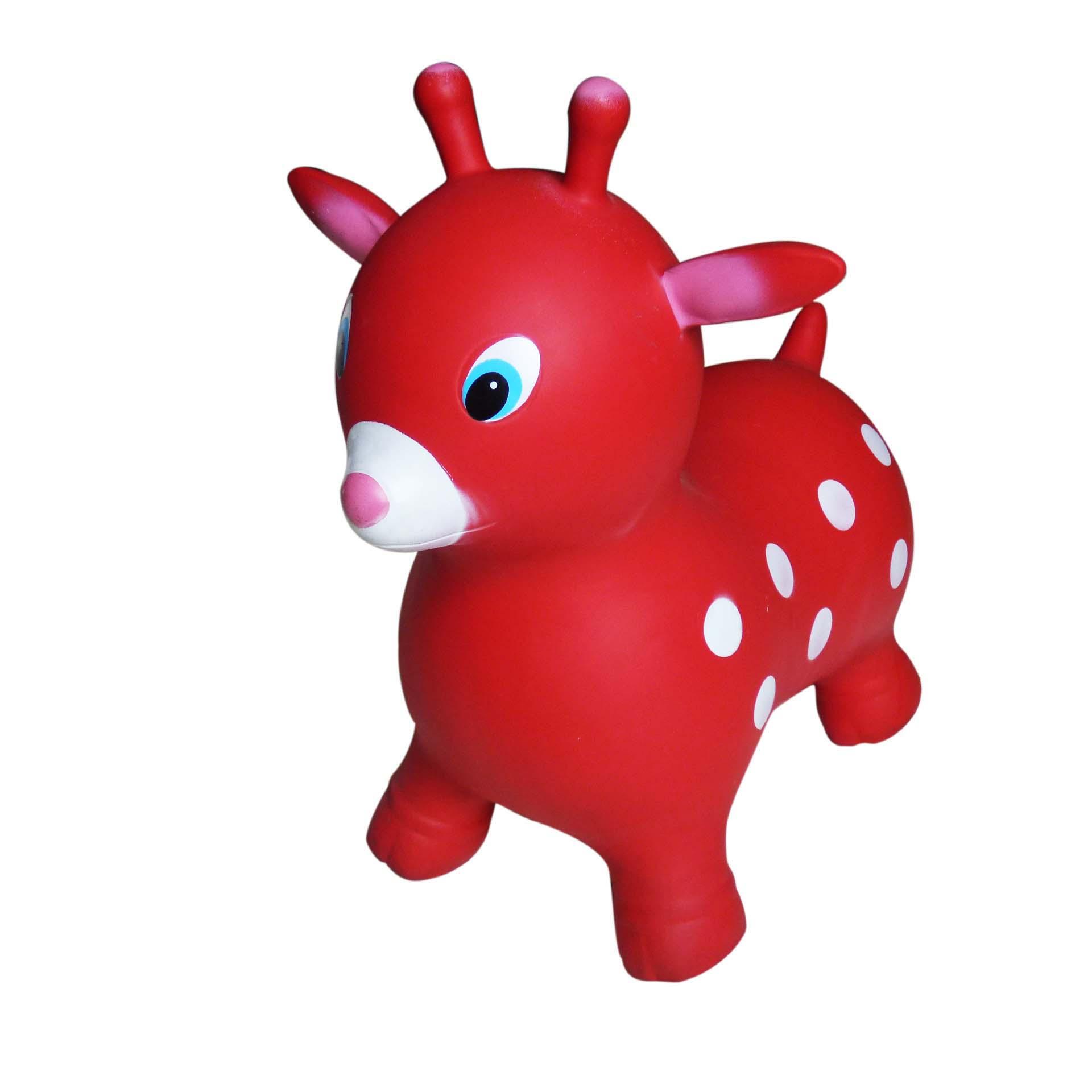 customized size giraffe Inflatable Animal Jump Toy