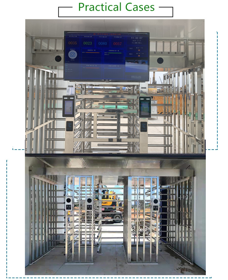 Dual Channel Full Height Turnstile Company