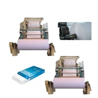 HAOZHENG Exquisite Craftsmanship White Culture Paper Production Line And Office Printing A4 Paper Making Machinery