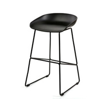 Cheap simple fashion iron home high stool chair nordic furniture high bar chair