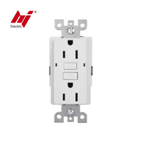 New Version UL Listed Standard GFCI Outlet 5-15R Electrical Sockets