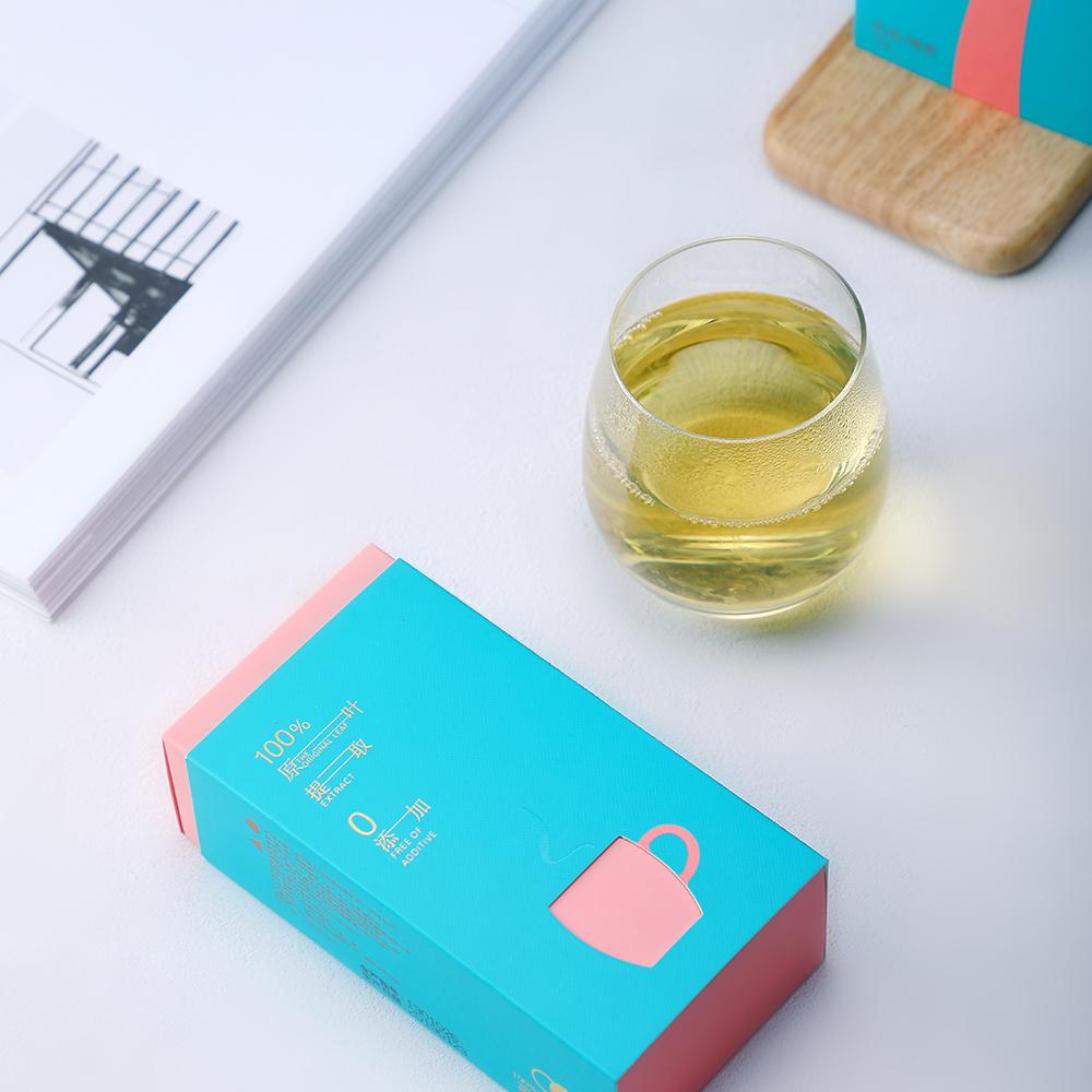 Choelite instant green tea with private label tea essence granules - 4uTea | 4uTea.com