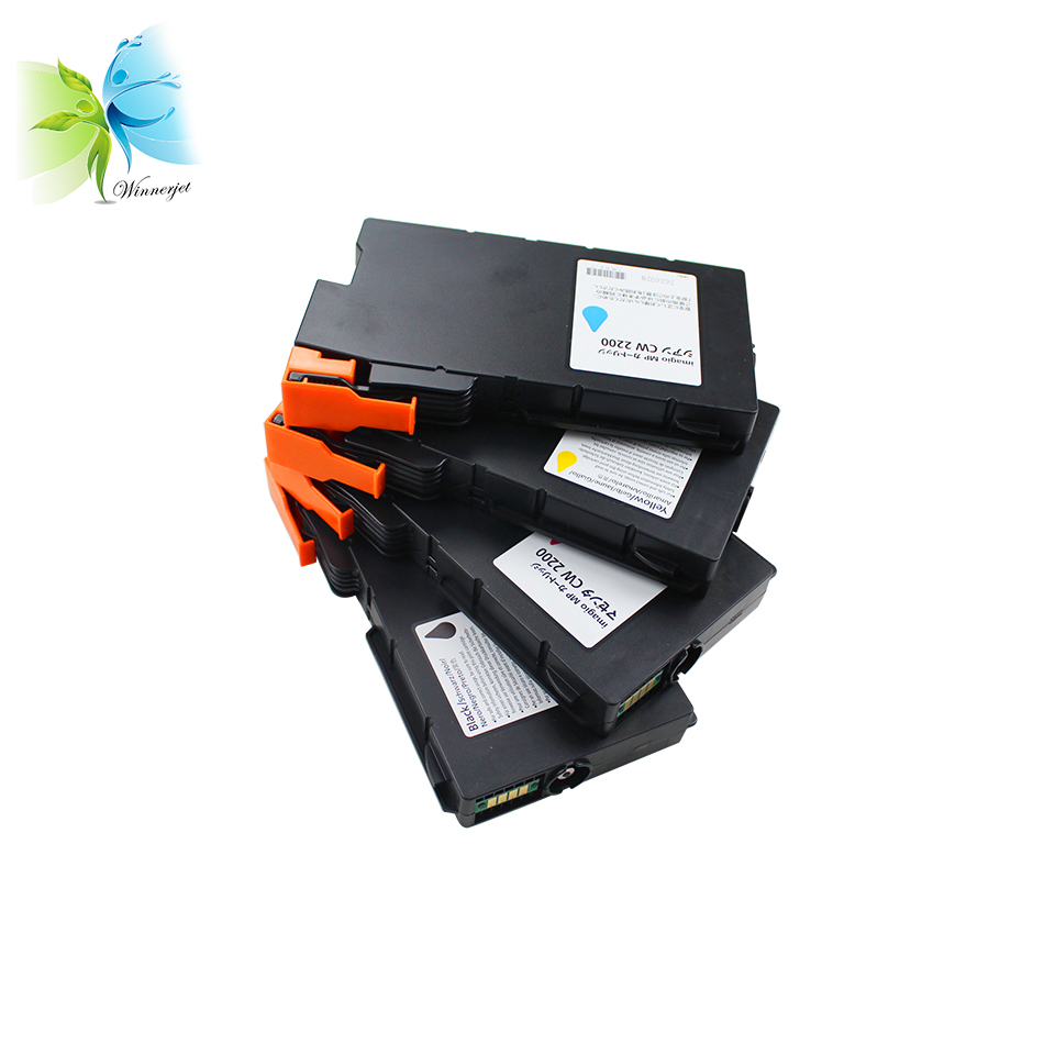 Winnerjet 841720 841721 841722 841723 compatible ink cartridge for Ricoh Aficio MP CW2200SP CW2200HSP CW1200SP CW1200HSP printer