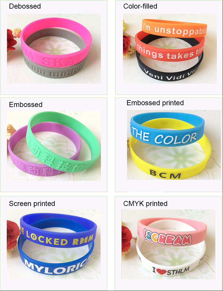 OEM manufacturer FDA certificated custom  blank silicone wristband for kids