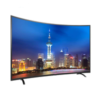 New Design Full Color Slim LED LCD 55 Inch Smart 4k Curved Televisions HDTV